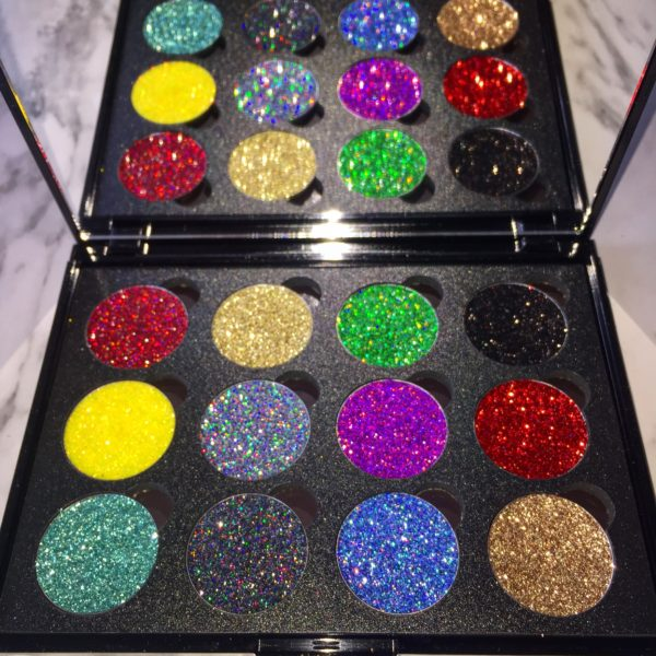 Customise Your Own Pressed Glitter Palette