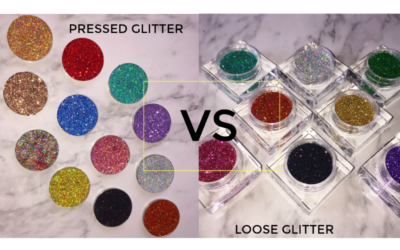 Pressed Glitter VS Loose Glitter – What's the difference?