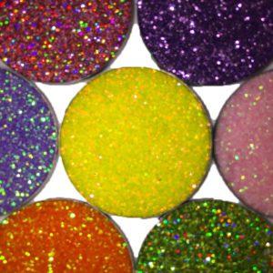 pressed glitter