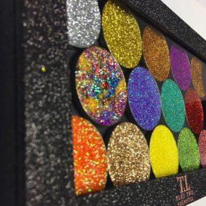 glitter magnetic palette