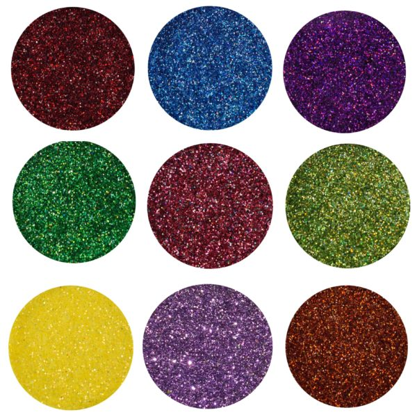 over the rainbow loose glitter